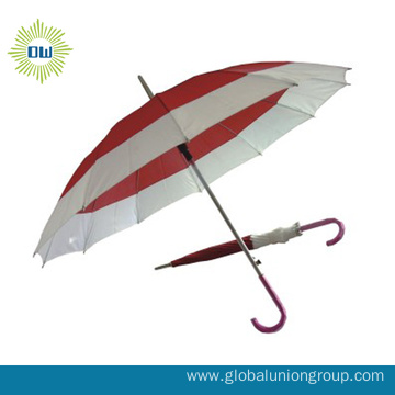 16K Auto Open Promotion Lace Straight Umbrella